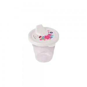 Imagem do produto - Copo de Plástico 200 ml com Tampa e Bico Floral