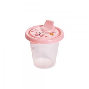 Imagem do produto - Copo de Plástico 200 ml com Tampa e Bico Bichinhos Petit
