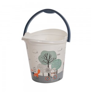 Imagem do produto - Balde de Plástico 8 L com Alça Bichinhos
