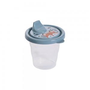 Imagem do produto - Copo de Plástico 200 ml com Tampa e Bico Bichinhos