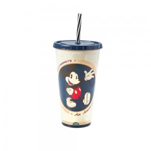 Imagem do produto - Copo Refrigerante de Plástico 700 ml com Tampa e Canudo Mickey Adulto