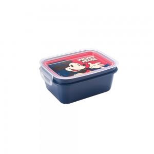 Imagem do produto - Marmita de Plástico 850 ml com Divisória Removível e Travas Laterais Mickey Adulto