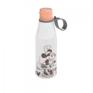 Imagem do produto - Garrafa de Plástico 530 ml com Tampa Abre e Fecha Minnie Adulto