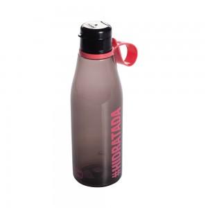 Imagem do produto - Garrafa de Plástico 530 ml com Tampa Abre e Fecha Fitness