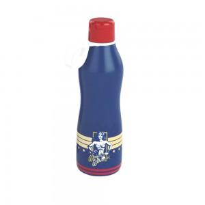 Imagem do produto - Garrafa de Plástico 1 L com Tampa Abre e Fecha Mulher Maravilha