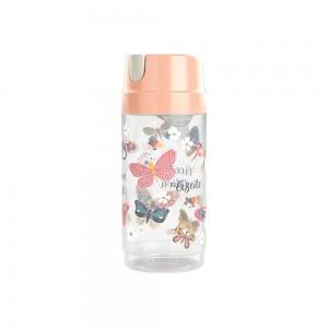 Imagem do produto - Porta Azeite de Plástico 570 ml Rosa Borboleta