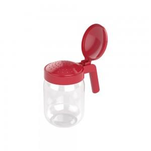 Imagem do produto - Saleiro de Plástico com Alça 450 ml Vermelho