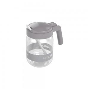 Imagem do produto - Açucareiro de Plástico com Alça e Colher 450 ml Cinza