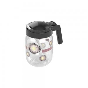 Imagem do produto - Açucareiro de Plástico com Alça e Colher 450 ml Glamour Preto