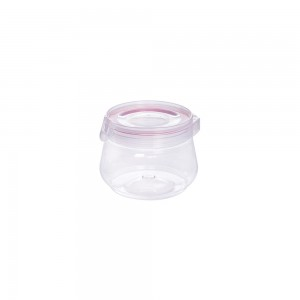 Imagem do produto - Pote de Plástico 700ml com Tampa Flip Vermelho