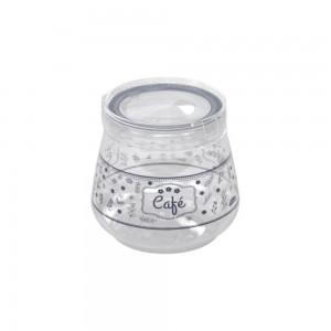 Imagem do produto - Pote de Plástico 1,1 L Flip Café Fazenda