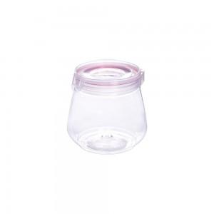 Imagem do produto - Pote de Plástico 1,1 L com Tampa Flip Vermelho