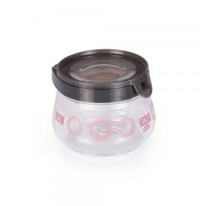 Imagem do produto - Pote de Plástico 700 ml Flip Glamour