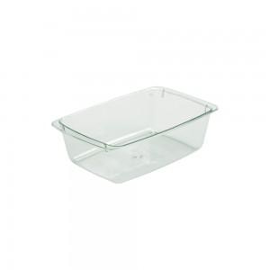 Imagem do produto - Travessa de Plástico 460 ml Retangular Cristal Verde