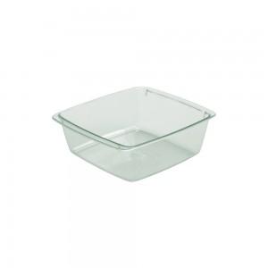 Imagem do produto - Travessa de Plástico 520 ml Quadrada Cristal Verde