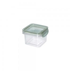 Imagem do produto - Porta Mantimentos Quadrado Trava Mais Cristal 380 ml Verde