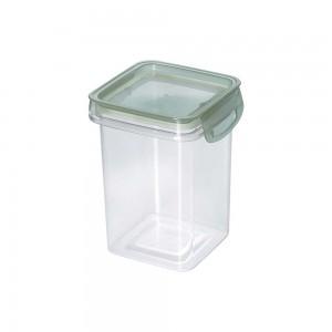 Imagem do produto - Porta Mantimentos Quadrado Trava Mais Cristal 830 ml Verde