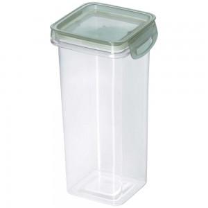 Imagem do produto - Porta Mantimentos Quadrado Trava Mais Cristal 1,2 L Verde