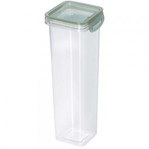Imagem do produto - Porta Mantimentos Quadrado Trava Mais Cristal 1,6 L Verde