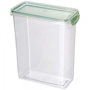 Imagem do produto - Porta Mantimentos Retangular Trava Mais Cristal 3 L Verde