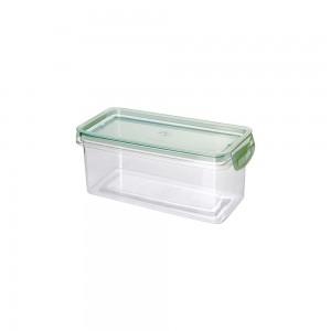 Imagem do produto - Porta Mantimentos Retangular Trava Mais Cristal 875 ml Verde