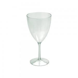 Imagem do produto - Taça de Plástico 330 ml Vinho Cristal Verde