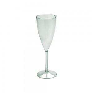Imagem do produto - Taça de Plástico 180 ml Champanhe Cristal  Verde