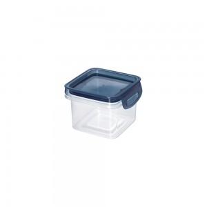 Imagem do produto - Porta Mantimentos Quadrado Trava Mais Cristal 380 ml Azul