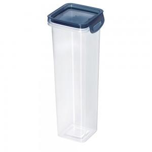 Imagem do produto - Porta Mantimentos Quadrado Trava Mais Cristal 1,6 L Azul