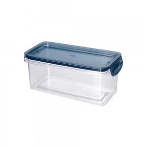 Imagem do produto - Porta Mantimentos Retangular Trava Mais Cristal 875 ml Azul
