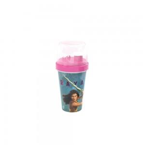 Imagem do produto - Mini Shakeira de Plástico 320 ml com Misturador Fechamento Rosca e Sobretampa Articulável Raya e o Último Dragão