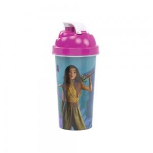 Imagem do produto - Shakeira de Plástico 580 ml com Tampa Rosca e Misturador Raya e o Último Dragão