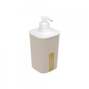 Imagem do produto - Porta Sabonete Líquido de Plástico Classic Fosca Nude