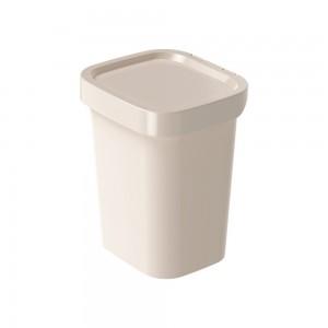 Imagem do produto - Lixeira de Plástico 4,6 L Classic Fosca Nude
