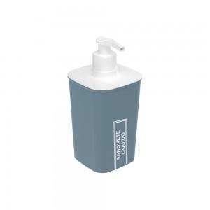 Imagem do produto - Porta Sabonete Líquido de Plástico Classic Fosca Azul