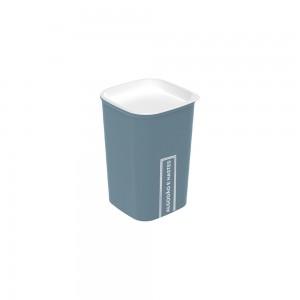 Imagem do produto - Porta Cotonete e Algodão Classic Fosca Azul