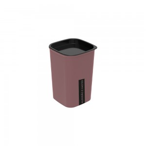 Imagem do produto - Porta Cotonete e Algodão Classic Fosca Cassis