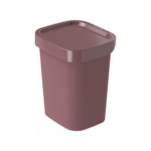 Imagem do produto - Lixeira de Plástico 4,6 L Classic Fosca Cassis