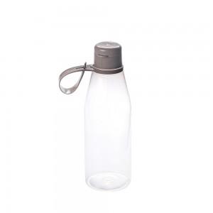 Imagem do produto - Garrafa de Plástico 530 ml com Tampa Abre e Fecha