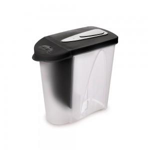 Imagem do produto - Porta Sabão em Pó de Plástico 2,3 L com Tampa e Dosador Preto