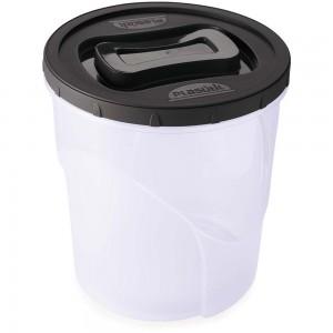 Imagem do produto - Pote de Plástico Redondo Rosca Clic 7,6 L Preto