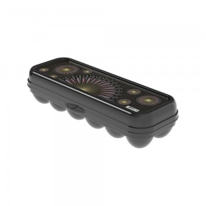 Imagem do produto - Porta Ovos de Plástico com Tampa Fixa Glamour 12 Unidades