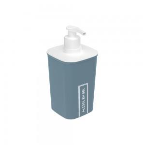 Imagem do produto - Porta Álcool Gel de Plástico Classic Fosca Azul
