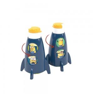 Imagem do produto - Garrafa de Plástico 320 ml Foguete Meu Malvado Favorito