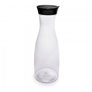 Imagem do produto - Garrafa de Plástico 1,8 L com Tampa Rosca e Sobretampa Encaixável New York Preto