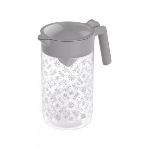 Imagem do produto - Jarra de Plástico com Espremedor 870 ml Cinza