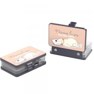 Imagem do produto - Porta Máscaras com Compartimento Duplo Cute Pets