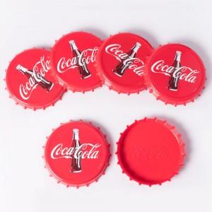 Imagem do produto - Conjunto de Porta Copos de Plástico Coca Cola 6 Unidades