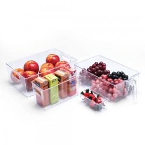 Imagem do produto - Conjunto de Organizadores Multiuso de Plástico para Geladeira 4 Peças