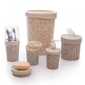 Imagem do produto - Kit para Banheiro Redondo Granilite 6 Peças